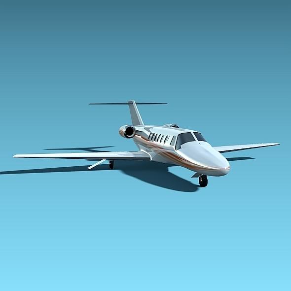 3DOcean Cessna Citation cj2 Business Jet 5349056