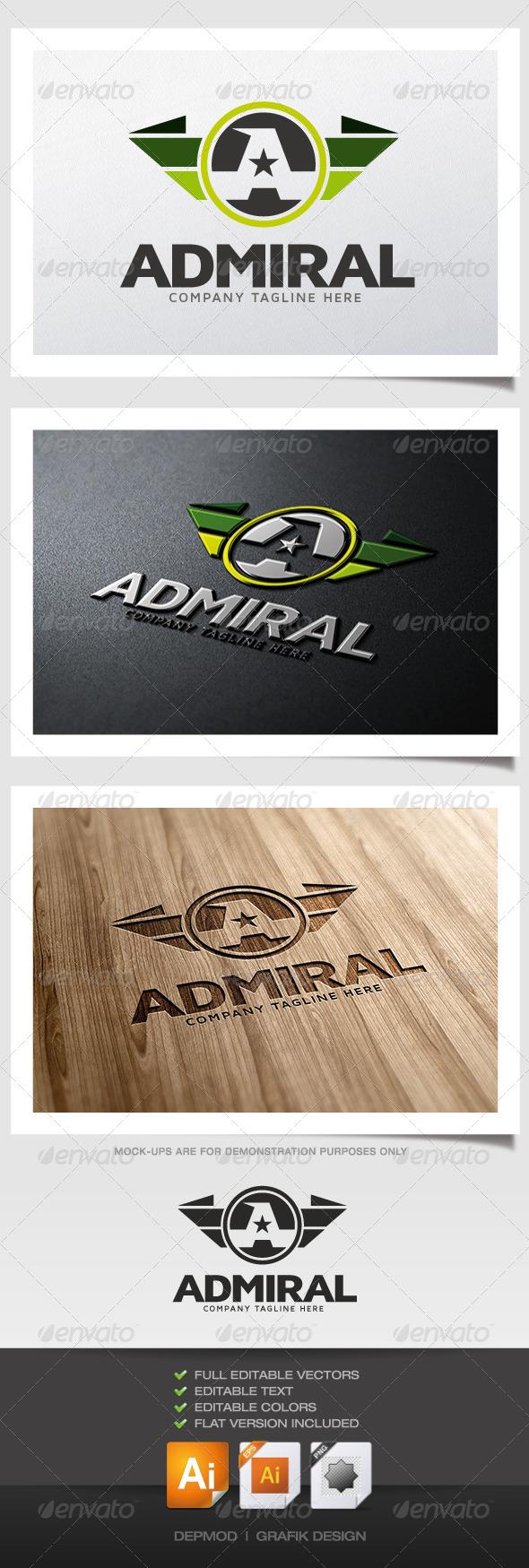 GraphicRiver Admiral Logo 5349454