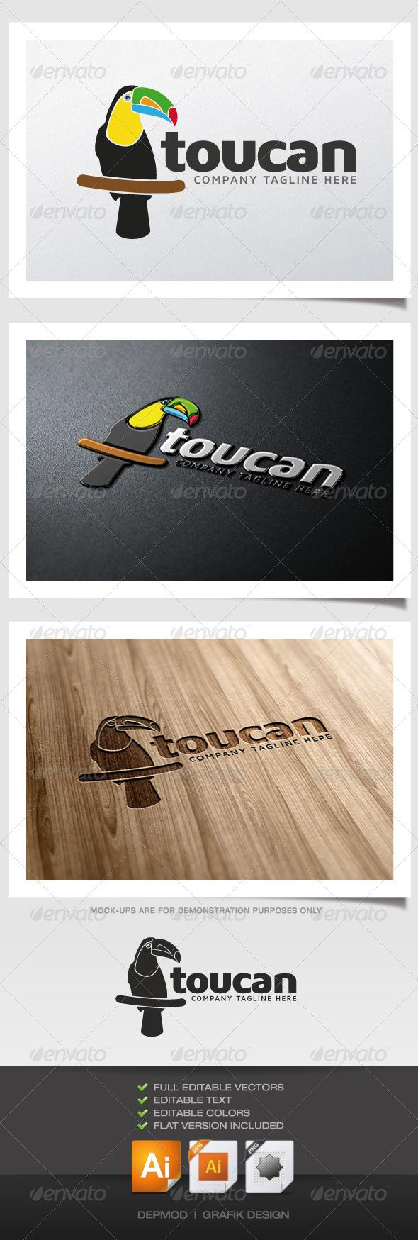 GraphicRiver Toucan Logo 5349616