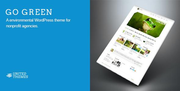 Go Green - Environmental WordPress Theme