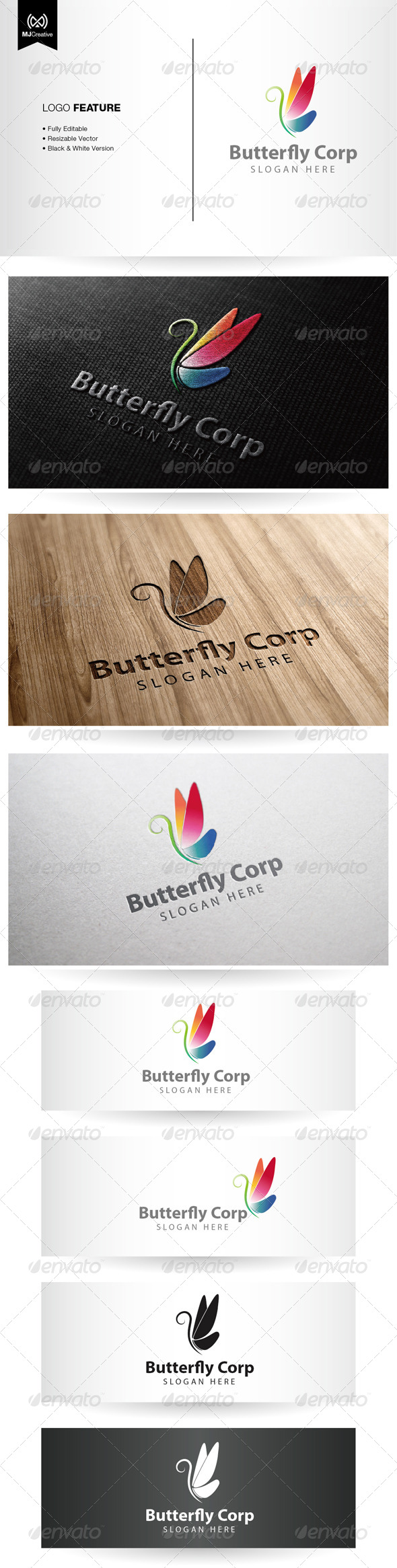 GraphicRiver Butterfly Logo 5350523