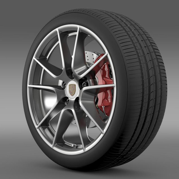 Porsche  911 Carerra 4 wheel - 3DOcean Item for Sale