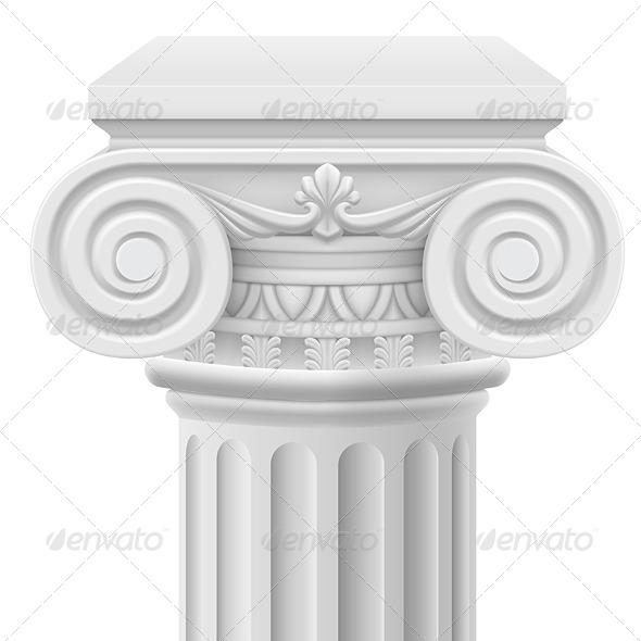 GraphicRiver Ionic Column 5351029