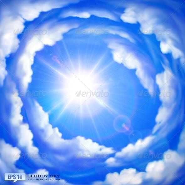 GraphicRiver Cloudy Sky 5351063