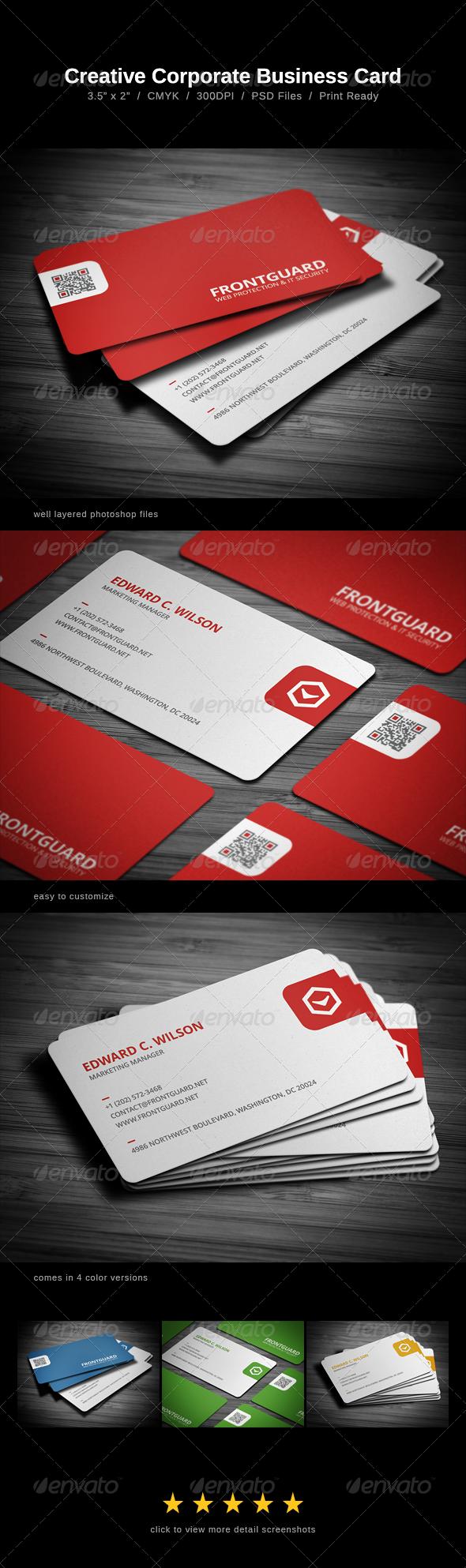 Creative Business Card - Print Templates