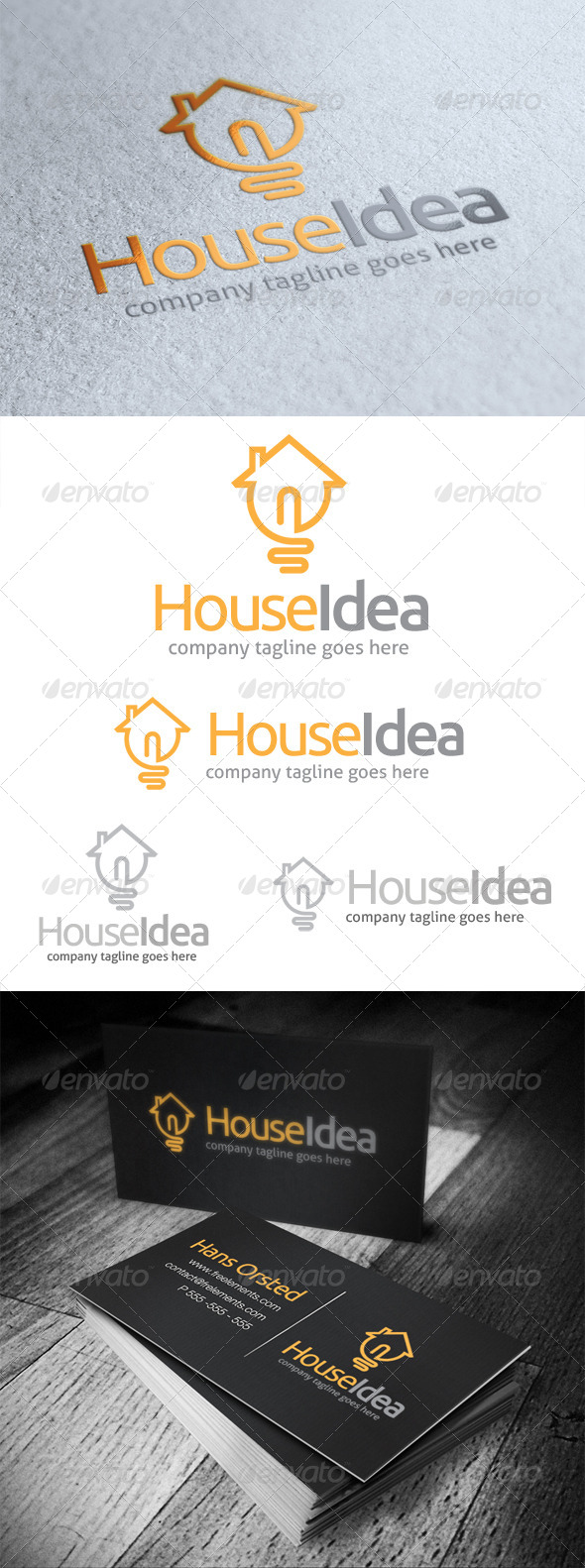 GraphicRiver House Idea Logo 5351114