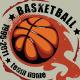 Grunge basketball T-shirt design - GraphicRiver Item for Sale