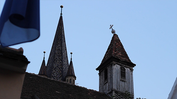 Crooked Cross on the Steeple