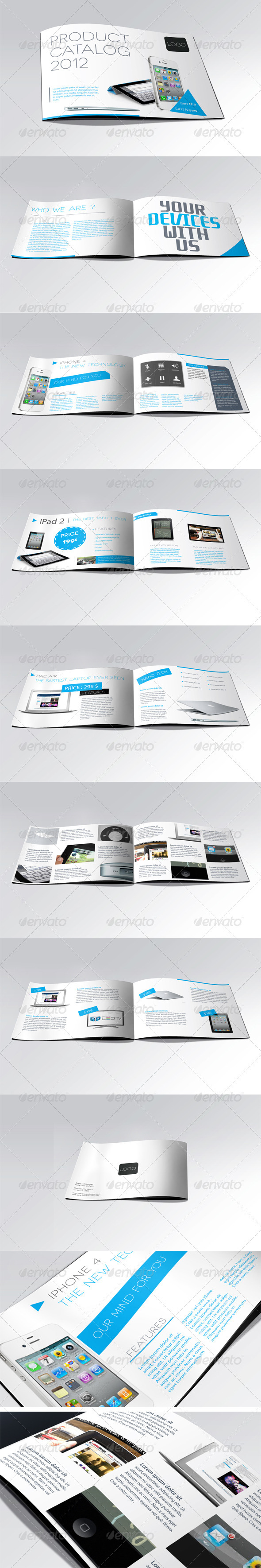 GraphicRiver Products Showcase Catalogue 549868