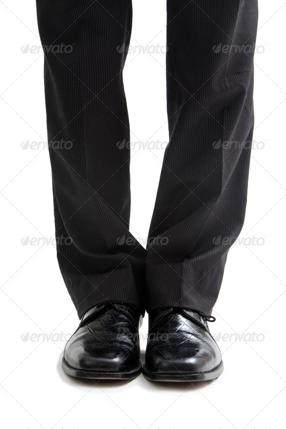 Business legs and feet - Stock Photo - Images