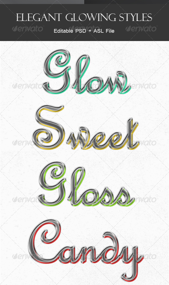 GraphicRiver Elegant Glowing Style 5315305