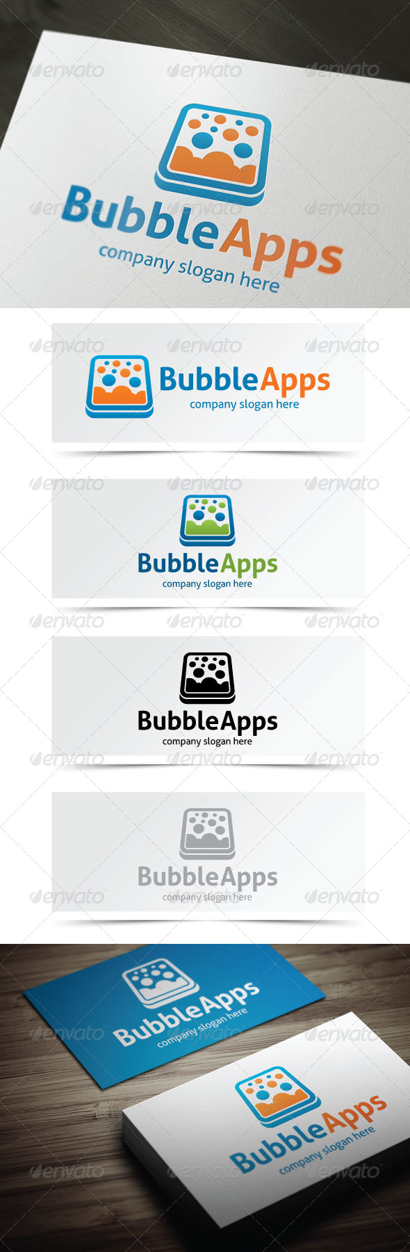 GraphicRiver Bubble Apps 5351372