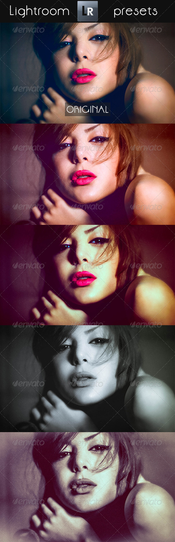 GraphicRiver 20 Portrait Pro Presets 5352120
