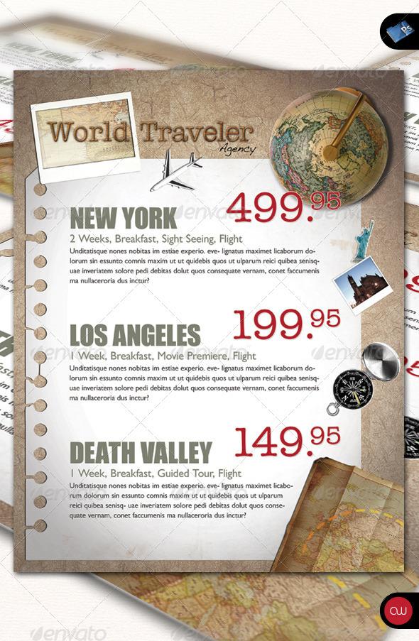 World Traveler - Business Flyer