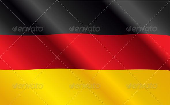 GraphicRiver German Flag 5352297