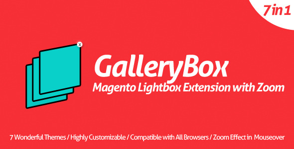 CodeCanyon GalleryBox Magento Lightbox Extension with Zoom 5352318