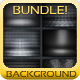 Metal Backgrounds Bundle - GraphicRiver Item for Sale
