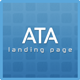 Ata Business/Corporate Landing Page Template