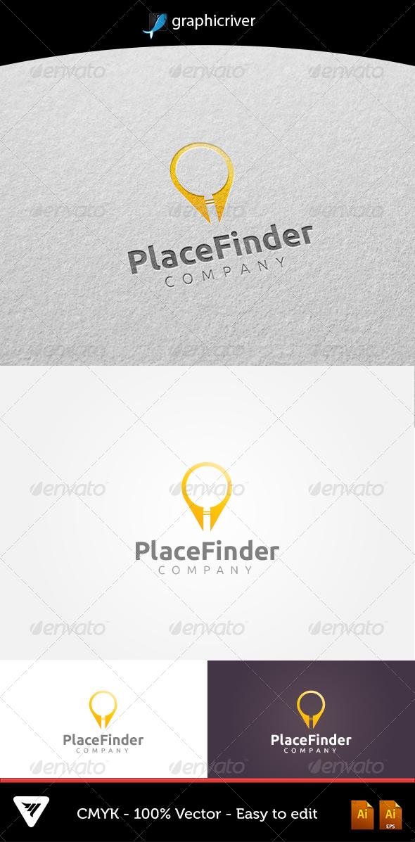 GraphicRiver PlaceFinder Logo 5352472