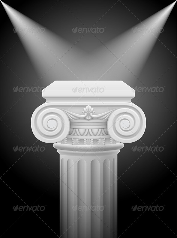 GraphicRiver Ionic Column 5352573