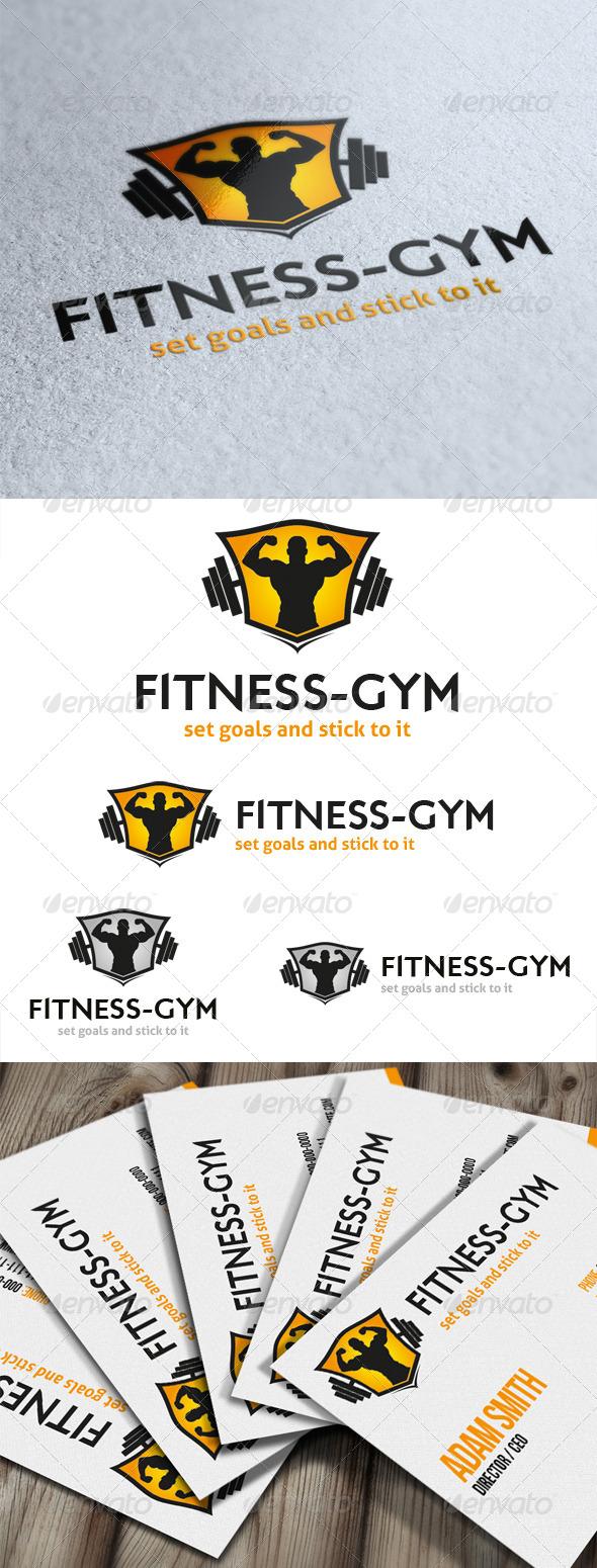 GraphicRiver Fitness Gym Logo 5352596