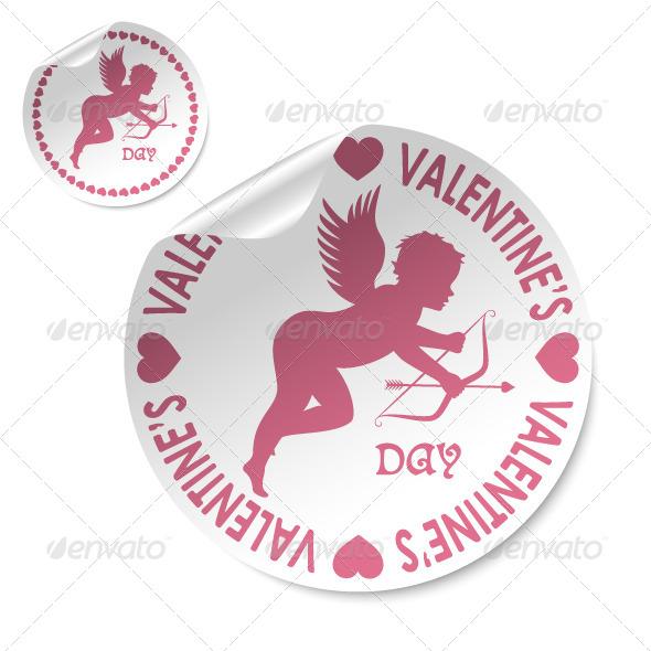 GraphicRiver Happy Valentines Day Stick 5352600