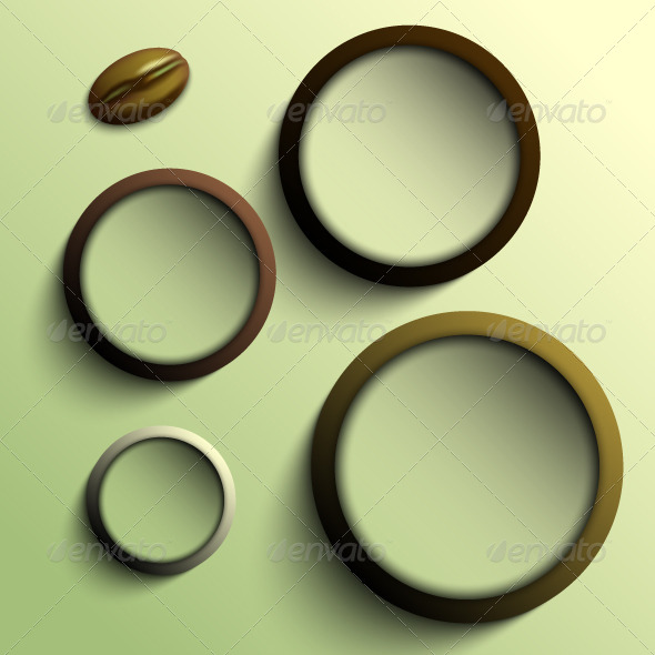GraphicRiver Coffee Abstract Background 5352619