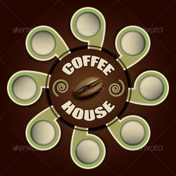 GraphicRiver Coffee House Background 5352648