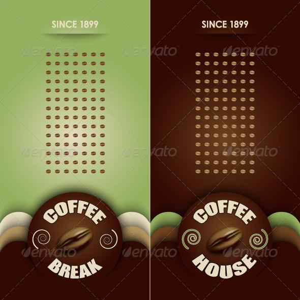 GraphicRiver Coffee Menu Background 5352649