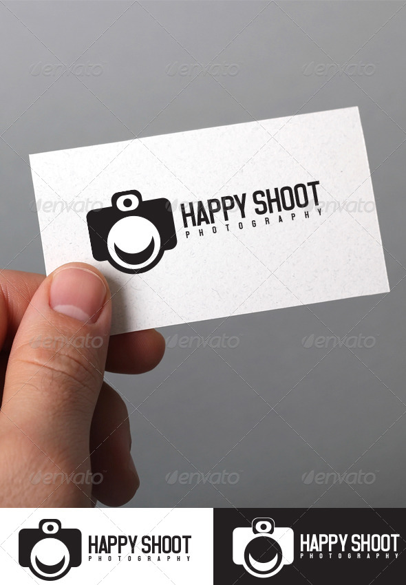 GraphicRiver Happy Shoot logo Template 5352916