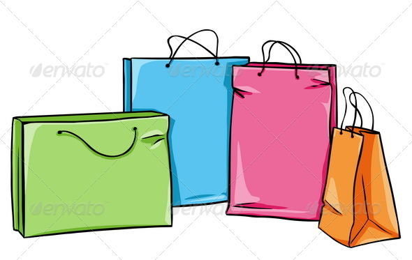 GraphicRiver Vector Shopping Bags 5352947