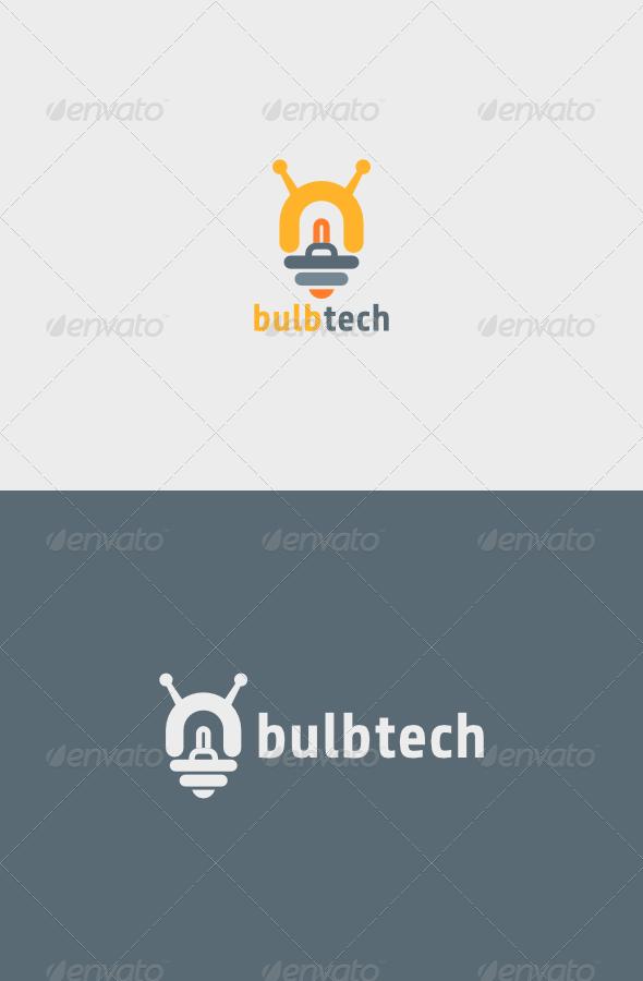 GraphicRiver Bulb Tech Logo 5352999