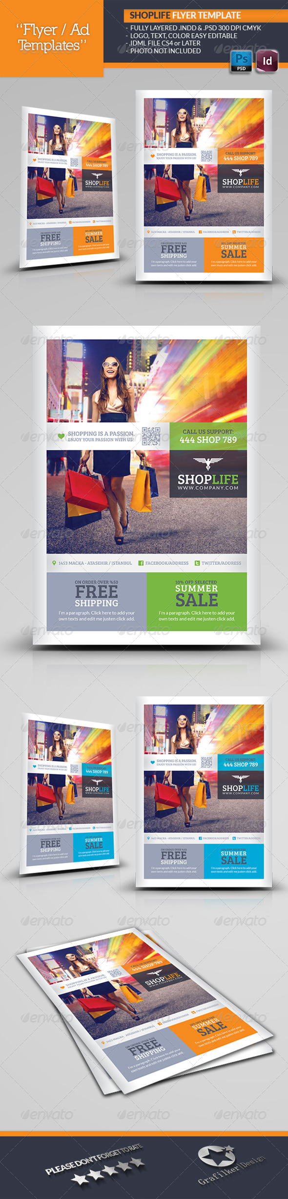 GraphicRiver Shop Life Flyer Template 5353001