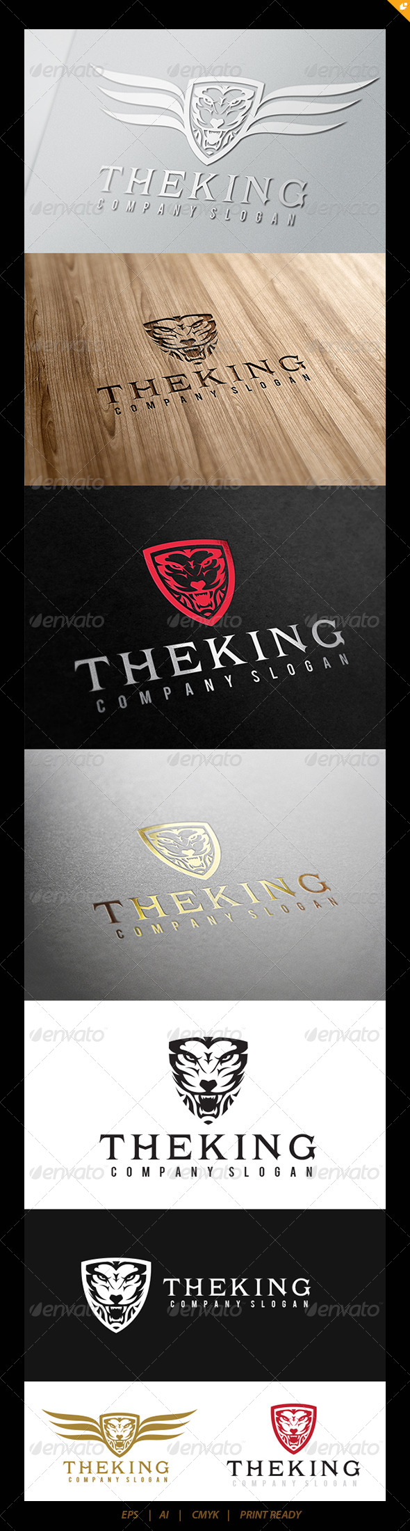 GraphicRiver The King Logo 5353143