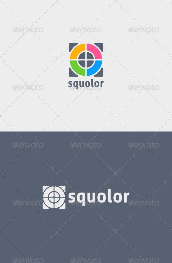 GraphicRiver Squolor Logo 5353308