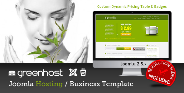 GreenHost - Business & Hosting Joomla Template - Hosting Technology
