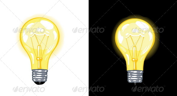 GraphicRiver Vector Lightbulb 5353980