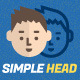 Simple Head -  Character Design Vector Pack - GraphicRiver Item for Sale