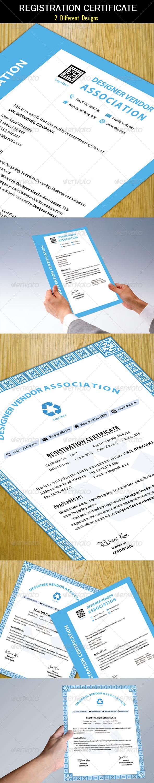 Registration Certificate Clean