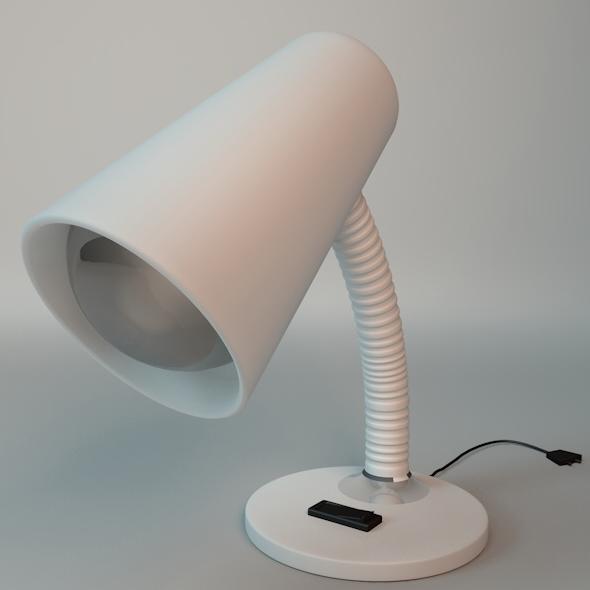3DOcean Desk Lamp With Light Bulb 5354251