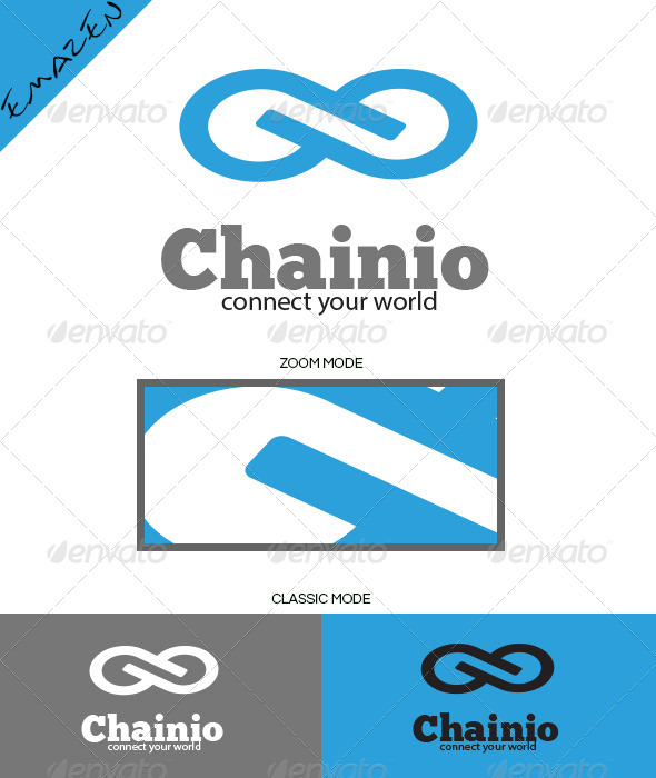 Infinity Chainio Logo Template