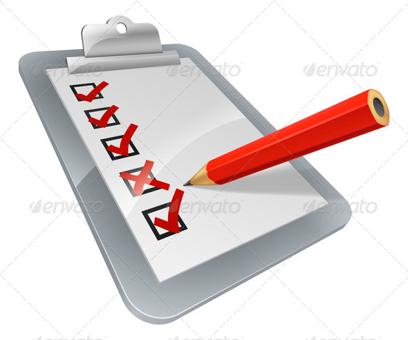 GraphicRiver Clipboard Survey 5354455