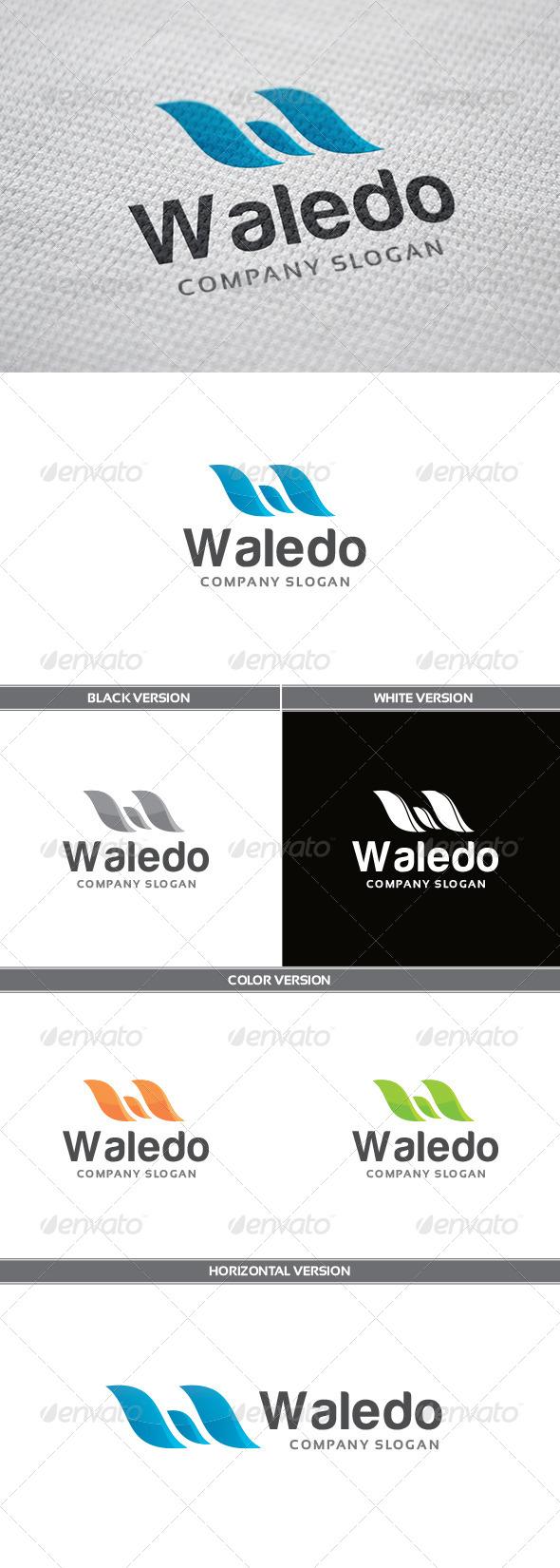 GraphicRiver Waledo Logo 5354862