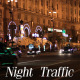 Night Traffic Cars 3 - VideoHive Item for Sale