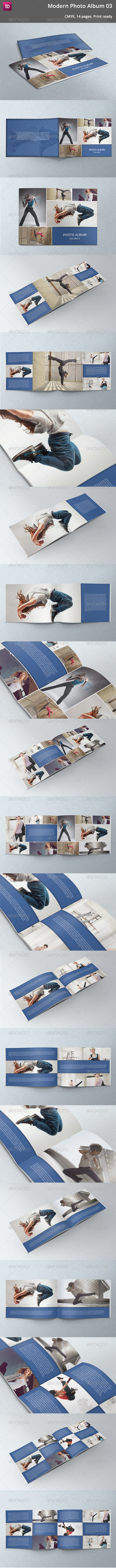 GraphicRiver Modern Photo Album 03 5355261
