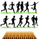 Runners Silhouettes Set - GraphicRiver Item for Sale