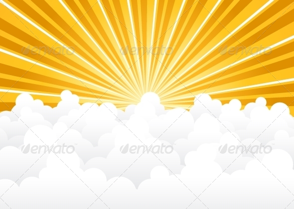GraphicRiver Cloud Background 5355548