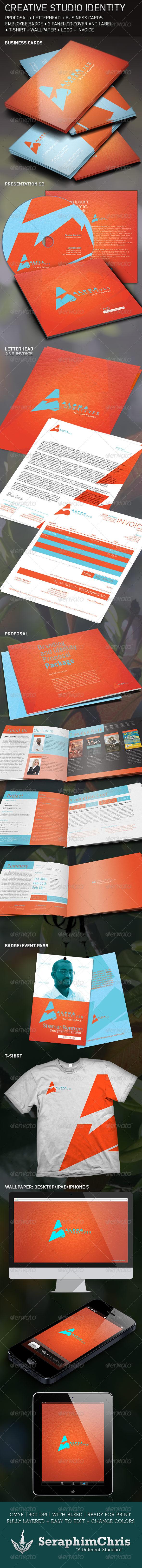 GraphicRiver Creative Studio Brand Identity Template 5309776