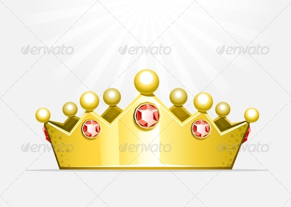 GraphicRiver Golden Crown 5355597