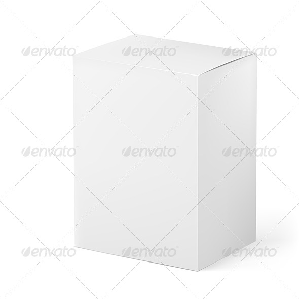 GraphicRiver White Box 5355903